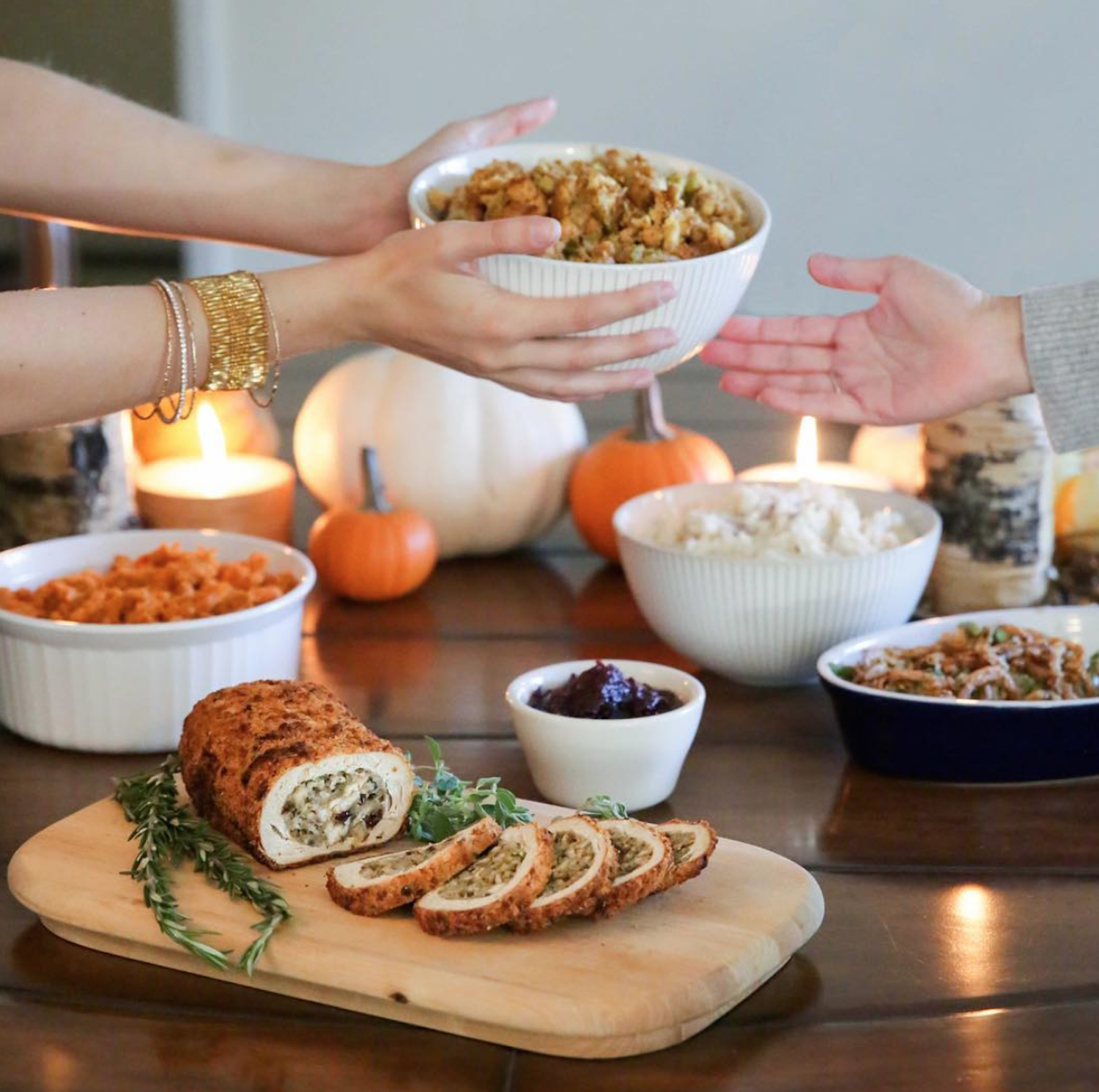 Give Thanks: Veggie Grill Just Launched a Loaded Vegan Thanksgiving Feast