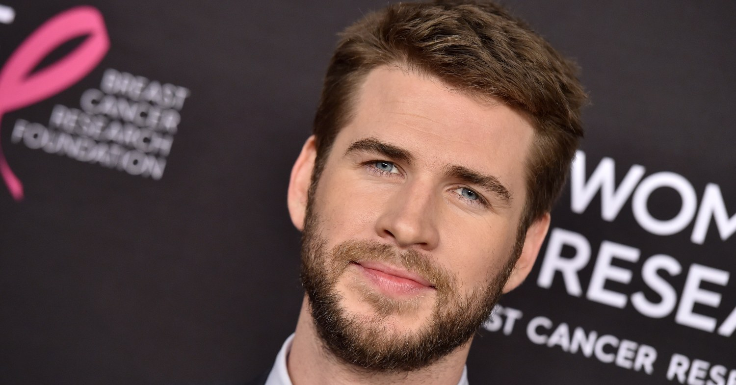 Liam Hemsworth at an event