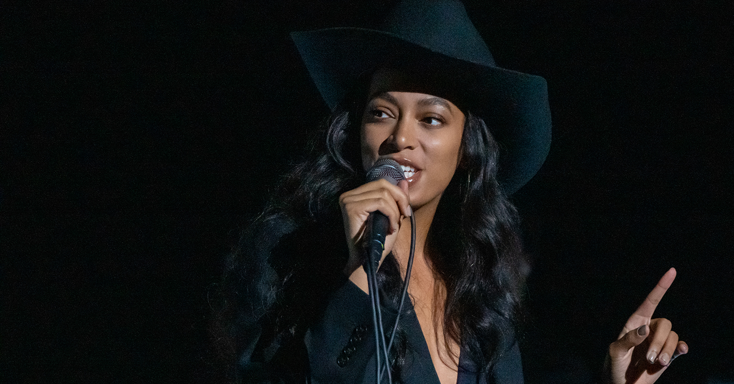 Musician Solange Follows Beyoncé's Vegan Lead With Cruelty-Free Vegan Leather Cowboy Boot Sneakers