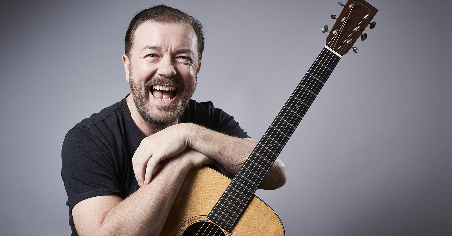 Actor Ricky Gervais Says Animal Cruelty is 'Just Wrong', Regardless of 'Tradition'