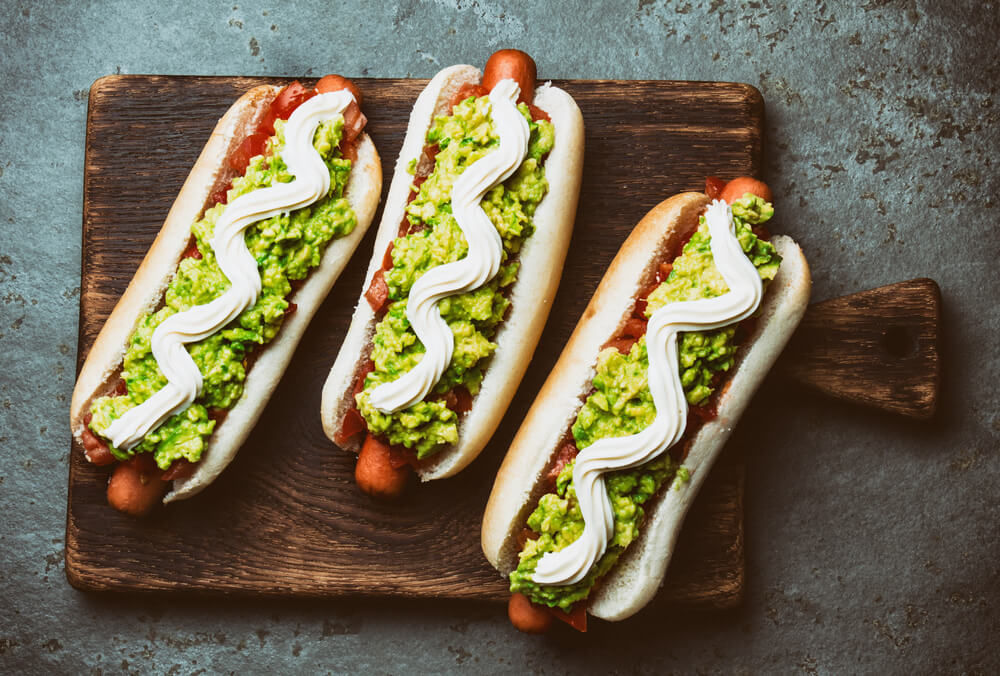 Hot Dogs with Mayo