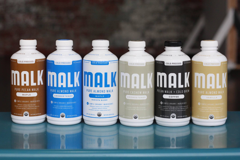 Vegan Milk Brand Malk Partners With Greenway Coffee to Open Plant-Based Cafe