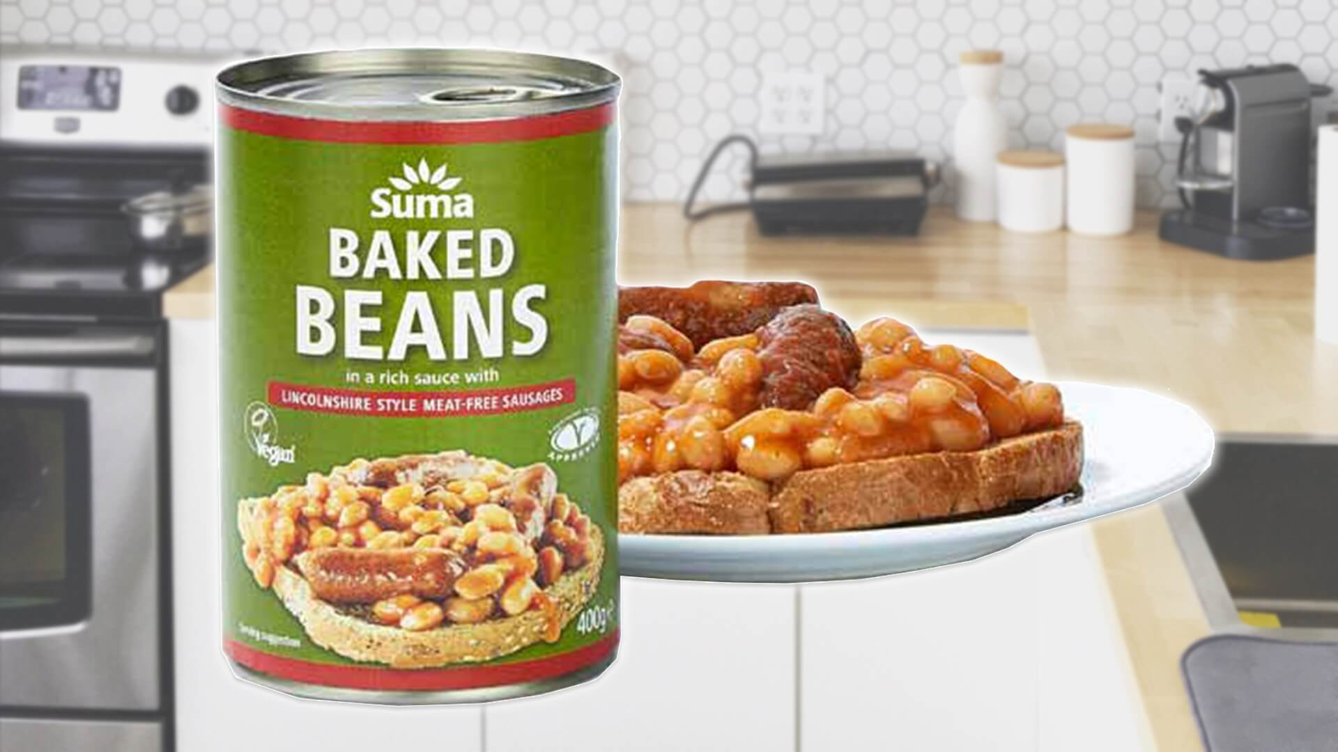 Canned Vegan Sausages And Beans Are Now at Co-Op Stores