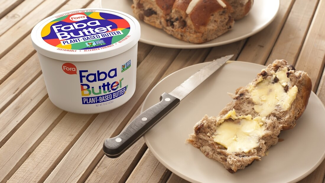 Vegan 'Aquafaba' Chickpea Brine Butter 'FabaButter' Arriving at Eataly Stores