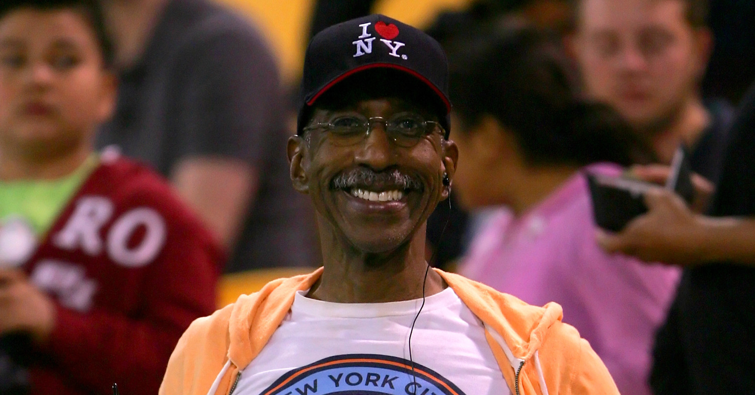 Photo of New York Yankees announcer Paul Olden, who runs every day and is powered by plant-based food.