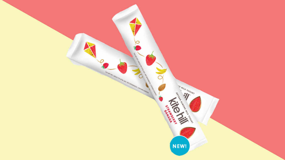 Kite Hill's Vegan Yogurt Squeeze Tubes Launch at Whole Foods Nationwide