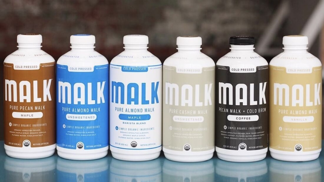 MALK's Organic Vegan Nut Milk Now In All Whole Foods Stores Nationwide