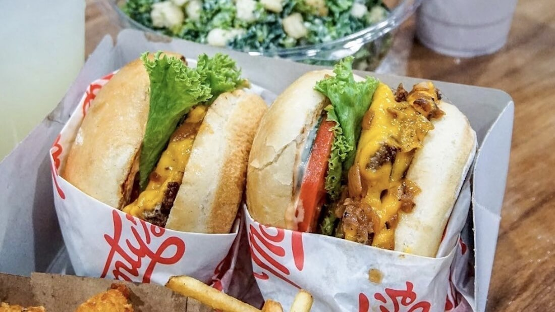In-N-Out Style Vegan Fast Food Joint Monty's Good Burger Opens in Los Angeles