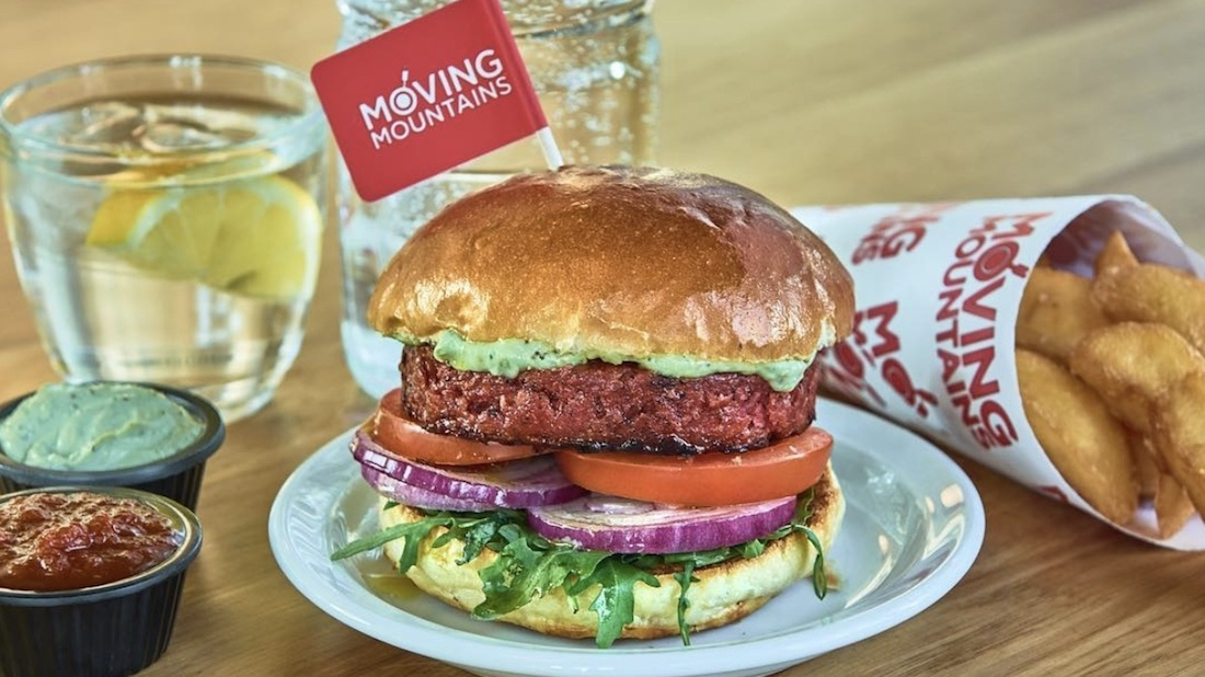 UK Pub Chain Marston's Launches Vegan Moving Mountains B12 Burger in 413 Locations