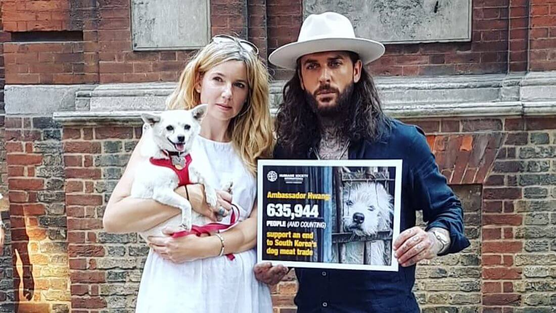Pete Wicks, Peter Egan, and Philippa Thomson Team Up to Fight the South Korean Dog Meat Trade