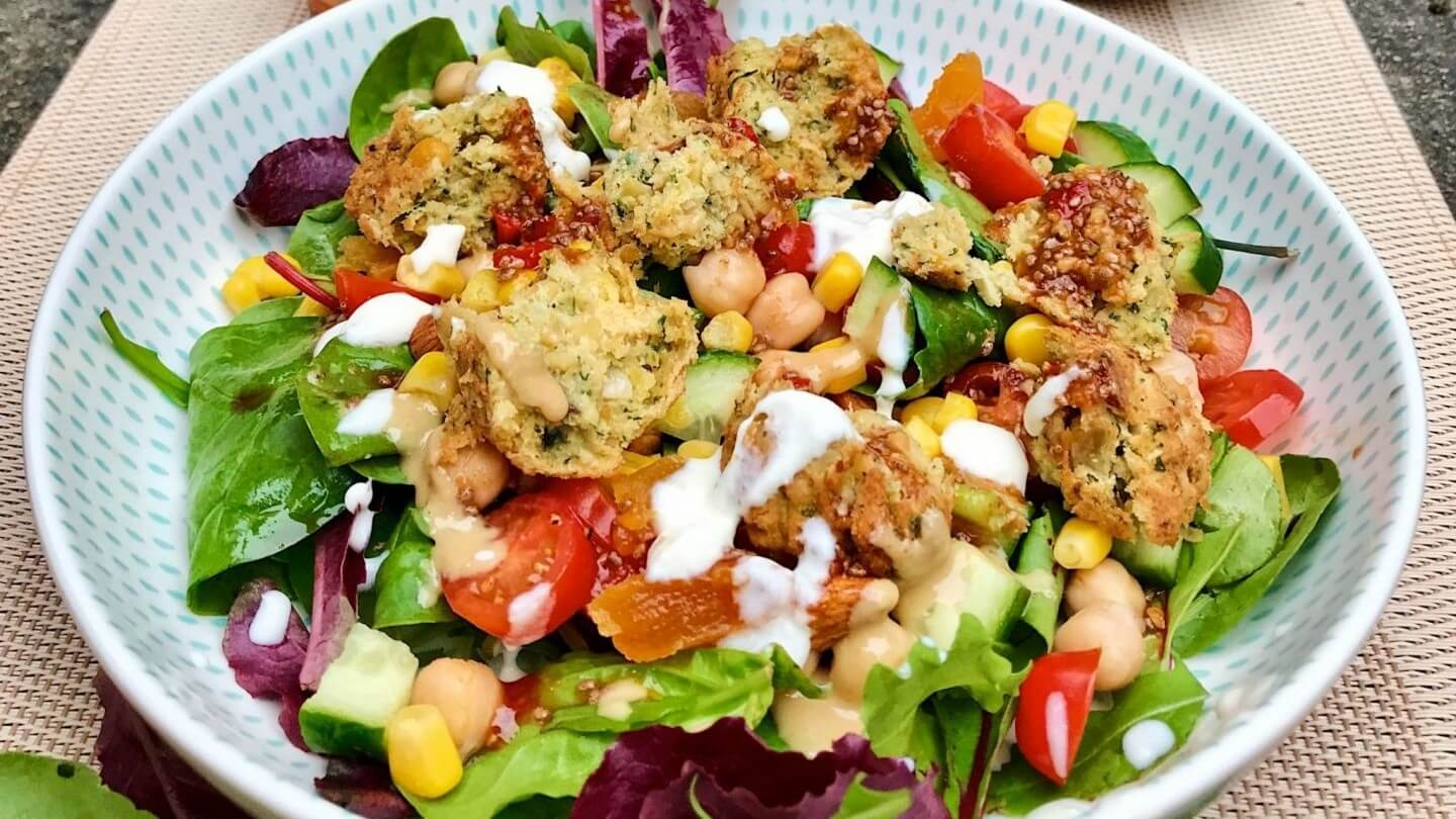 Vegan Moroccan Chickpea Salad With Chili-Lime Dressing