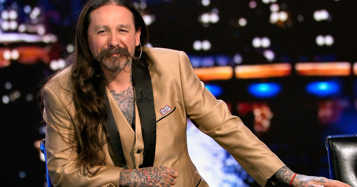Oliver Peck as a judge on Ink Master