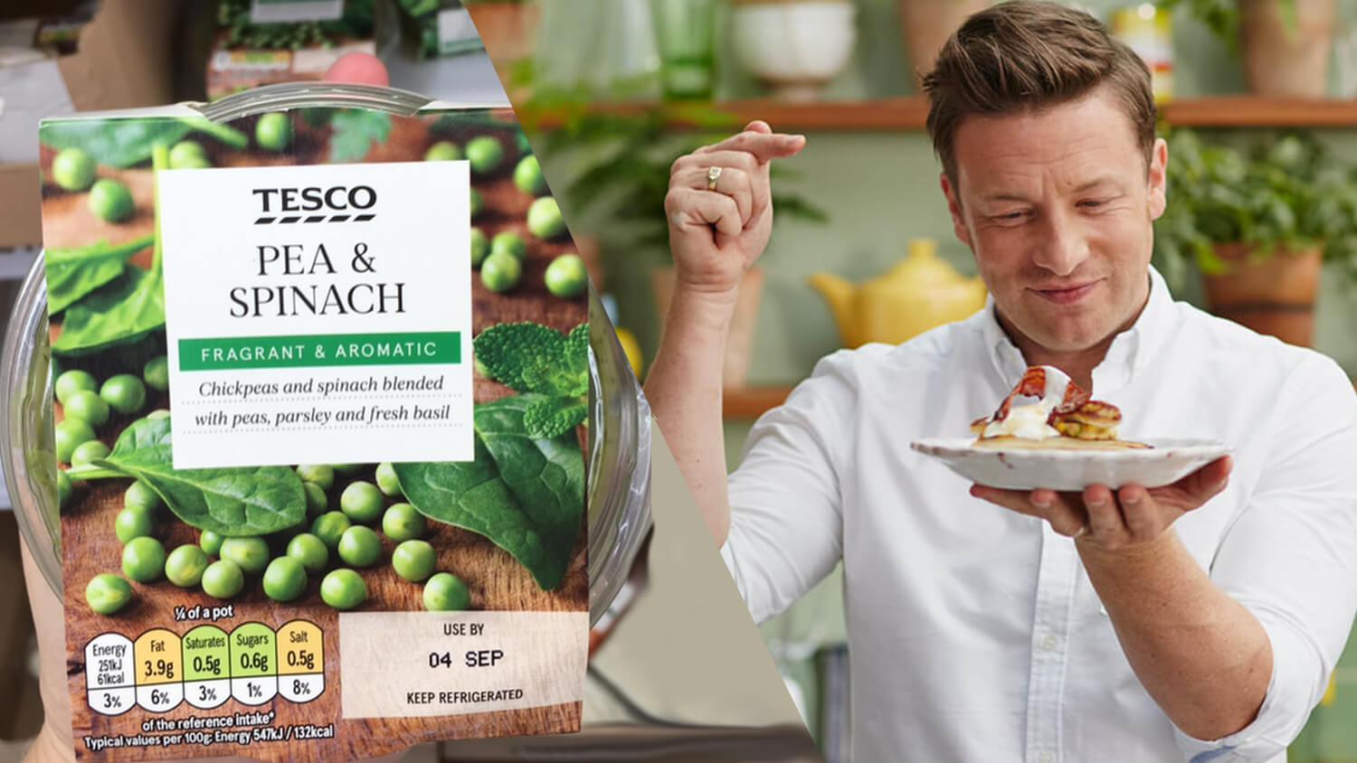 Jamie Oliver Partners With Tesco On Plant-Based Eating Program, the Little Helps Plan