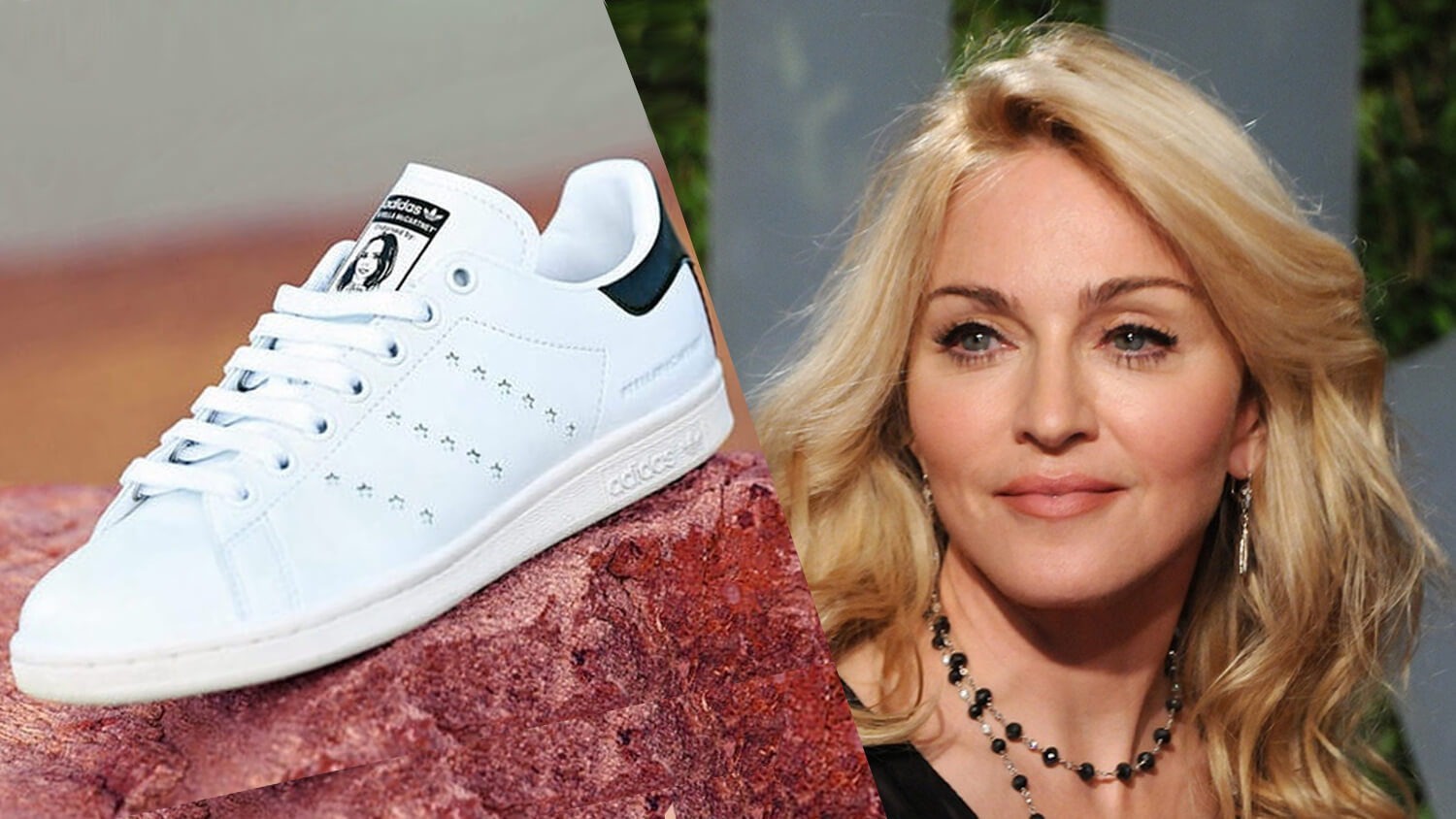 Madonna Loves Her New Vegan Leather Adidas Sneakers By Stella McCartney