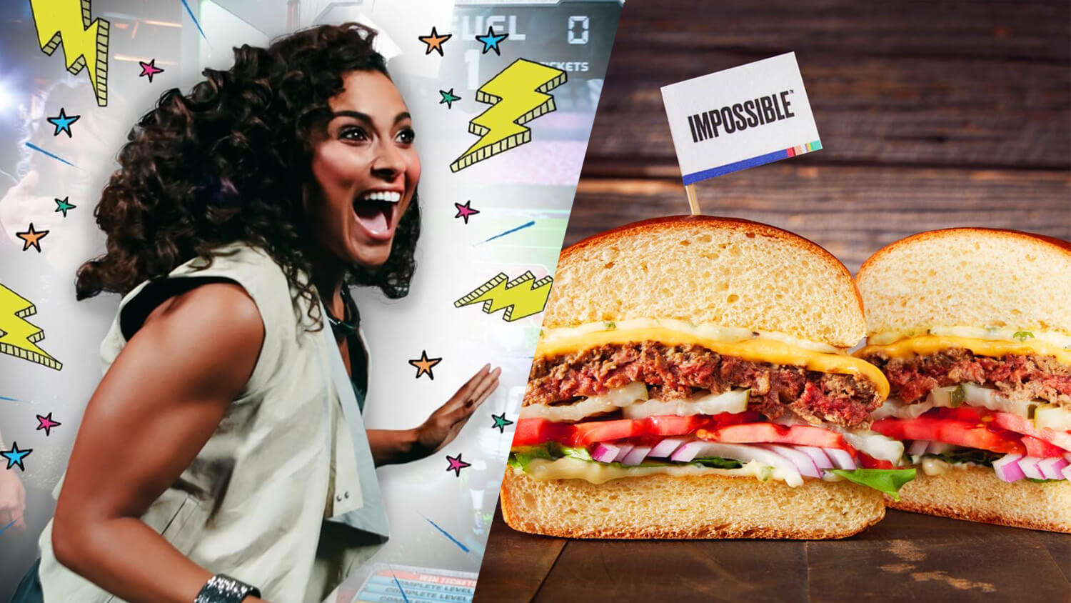 Vegan Impossible Burger Arrives at All Dave & Buster's Restaurants and Arcades