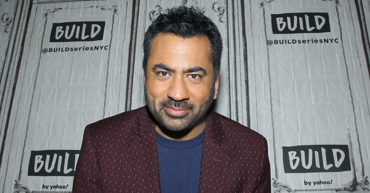 Photo of actor Kal Penn, who has invested in White Castle's vegan Impossible Burger.
