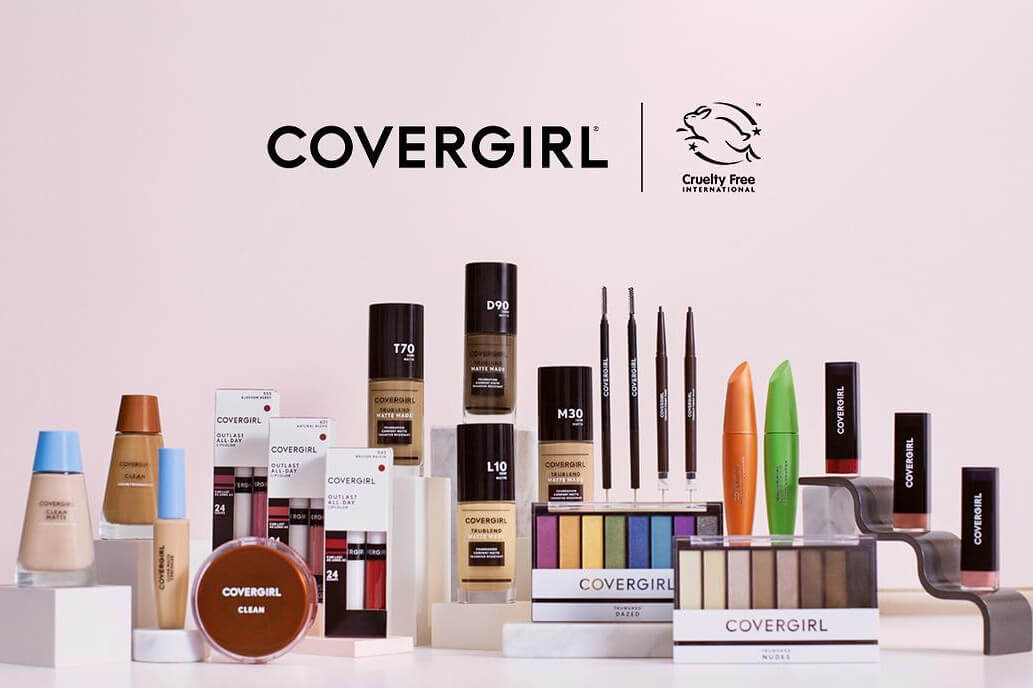CoverGirl Cosmetics Becomes the Largest Beauty Brand to Earn Cruelty-Free International's 'Leaping Bunny' Certification