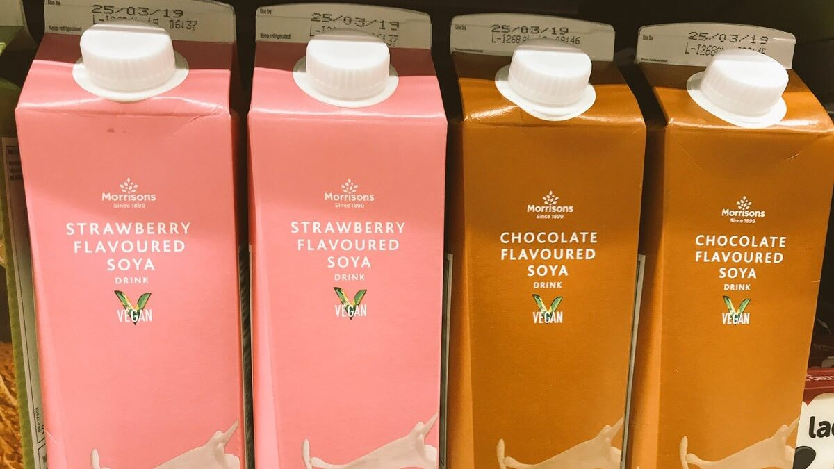 Morrisons Launches Vegan Soy and Cashew Milk Range Featuring Dairy-Free Strawberry and Chocolate Flavors
