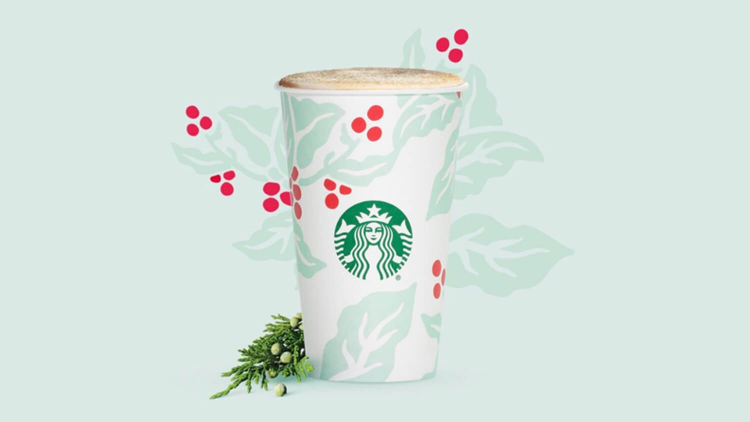 Starbucks Just Launched a Veganizable Christmas Tree Latte