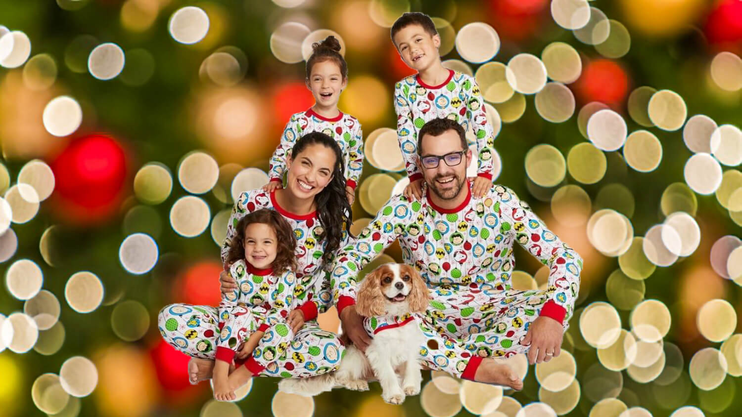 Target Launches Matching Vegan Holiday Pajama Set for Families Who Are Extra About Their Dogs