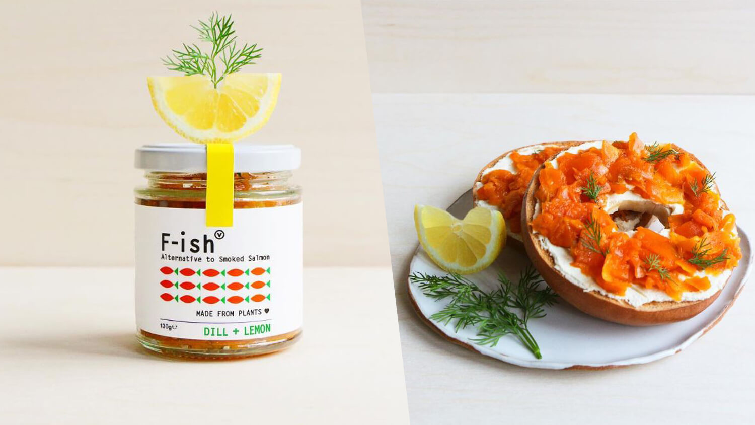 Jarred Vegan Smoked Salmon Launches in England