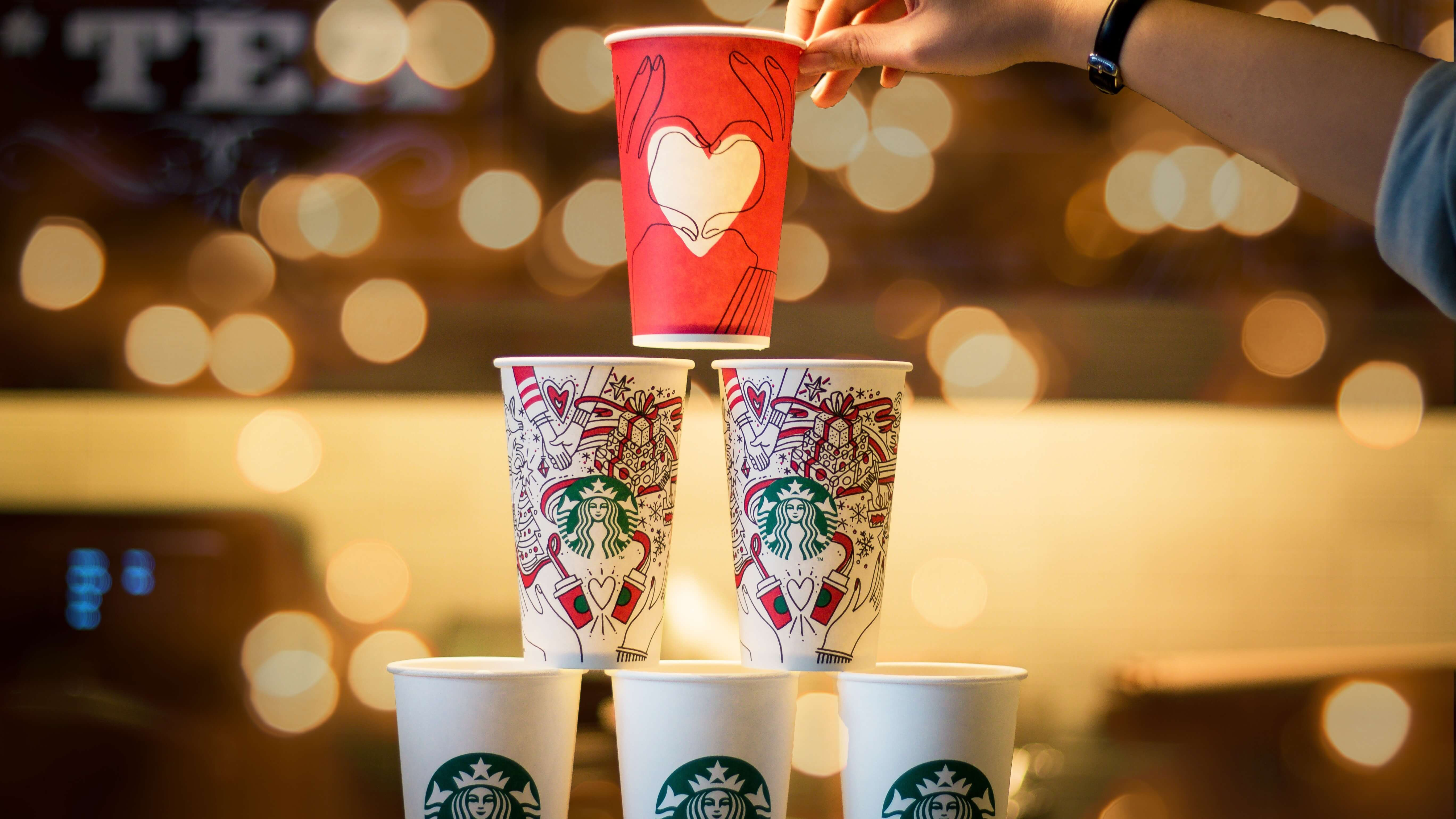 Starbucks Proves That Single-Use Coffee Cups Can Be Recycled