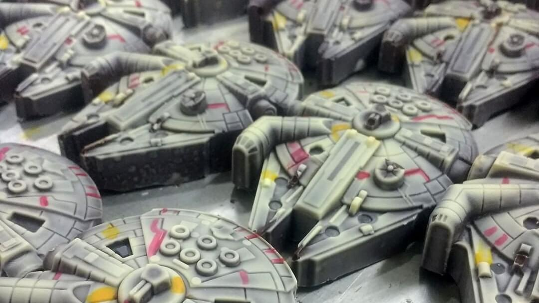 These Vegan Star Wars Chocolates Are In a Galaxy Really, Really Close