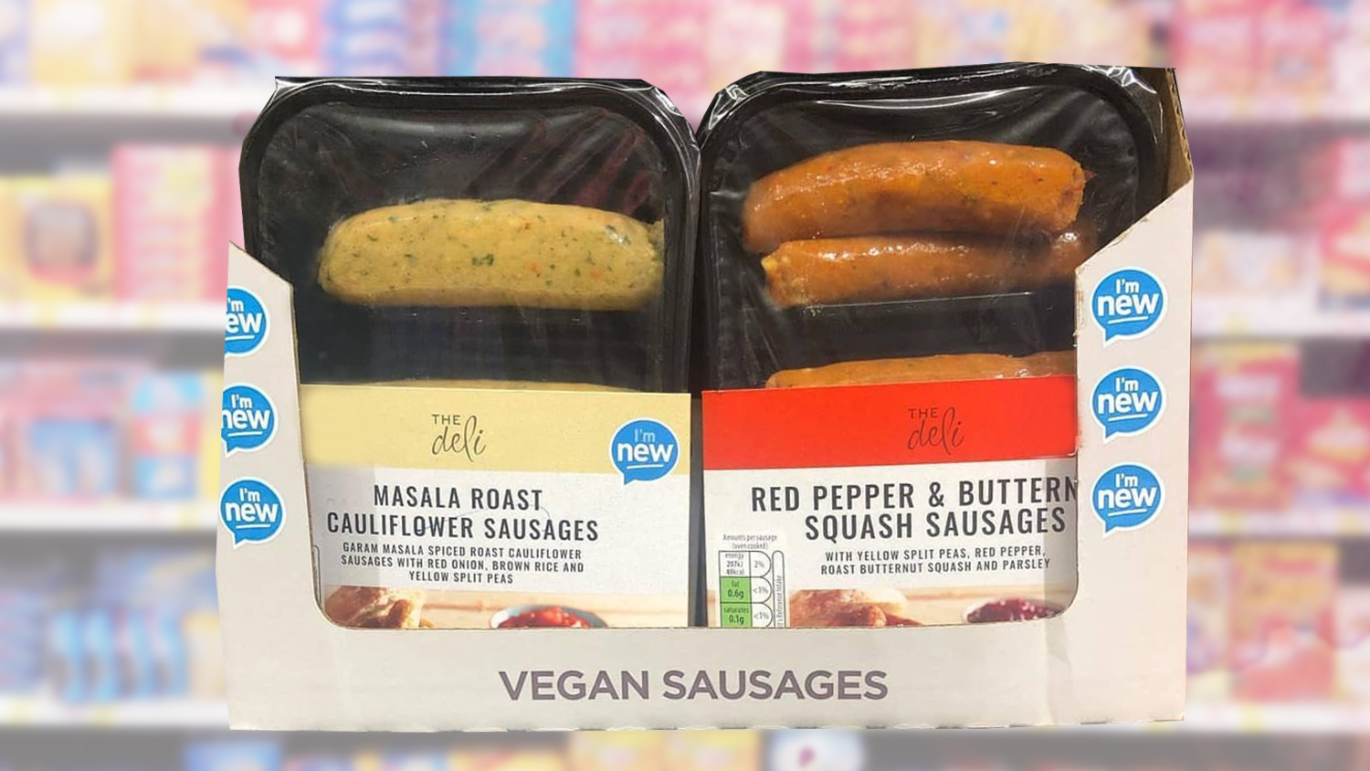 These New Vegan Aldi Sausages Are Made From Cauliflower
