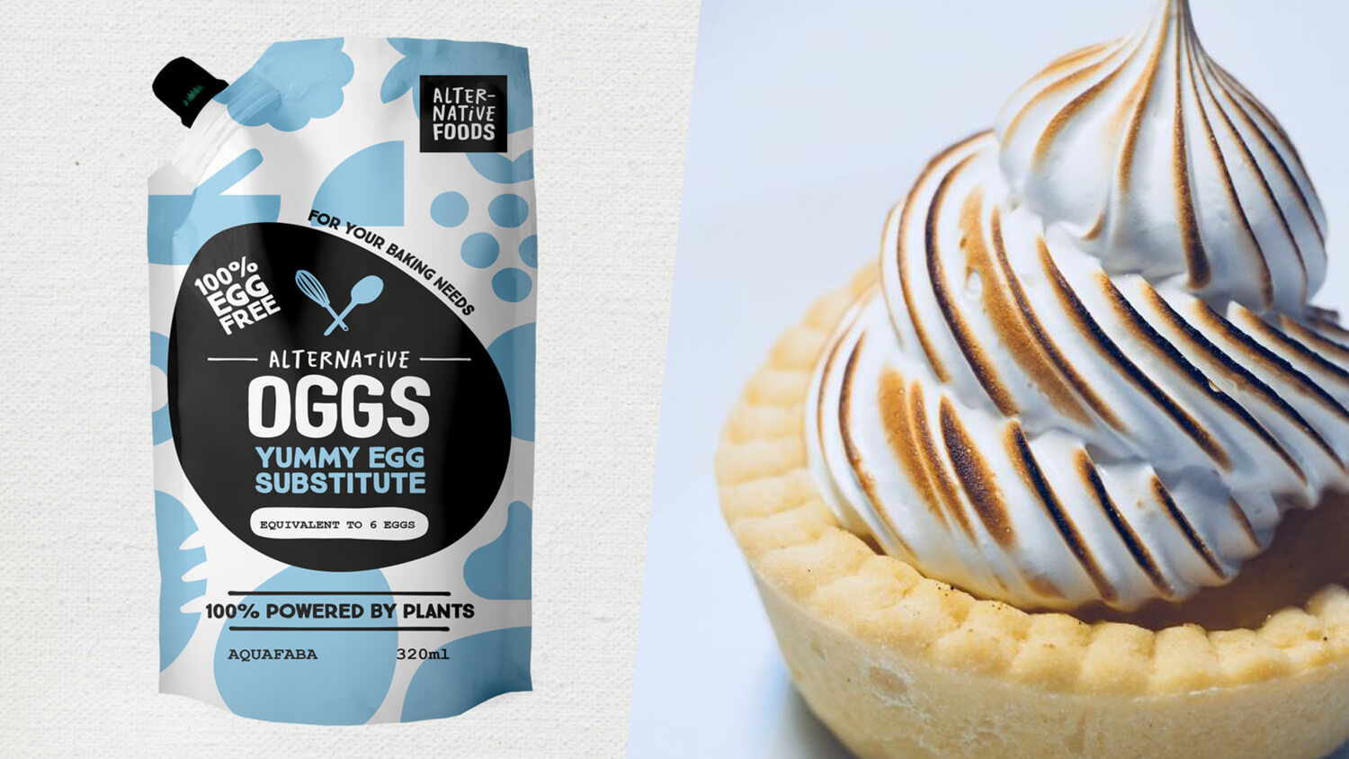Vegan Eggs Made With Aquafaba on the Way to the UK