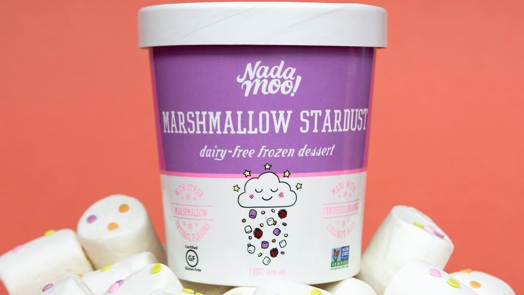 New Vegan Marshmallows Stardust Ice Cream Is Out of This World