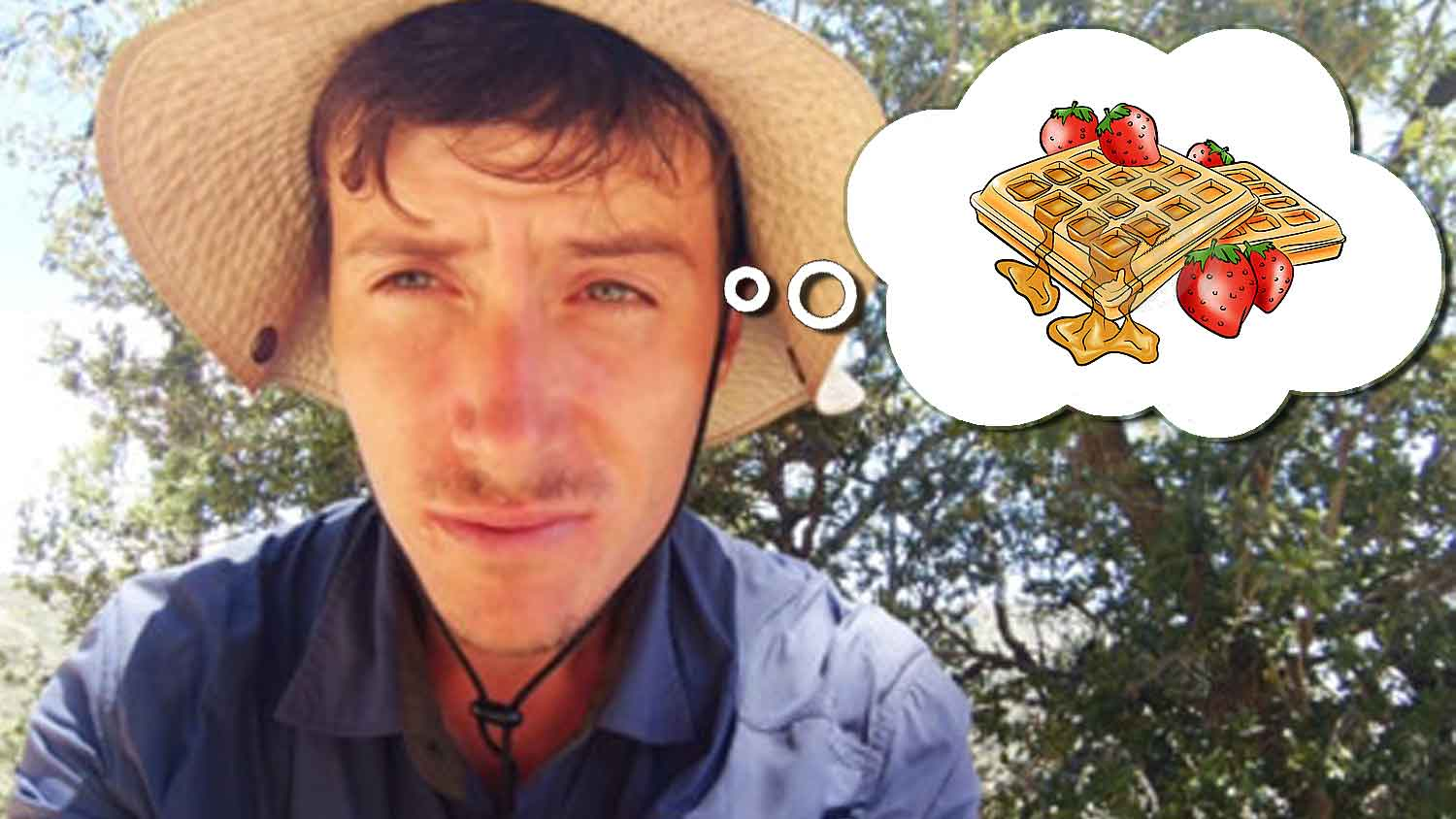 Man Hikes 118 Miles In Search of Vegan Waffles