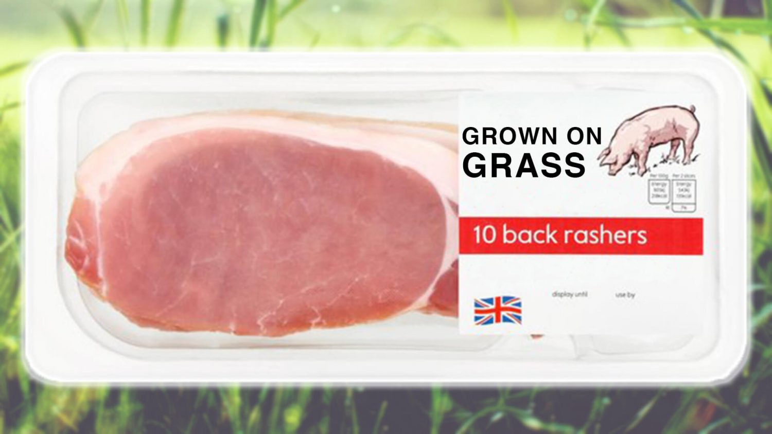 This Small UK Town Is Growing Bacon on Blades of Grass