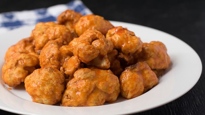 These Vegan Wings Are Made With Cauliflower