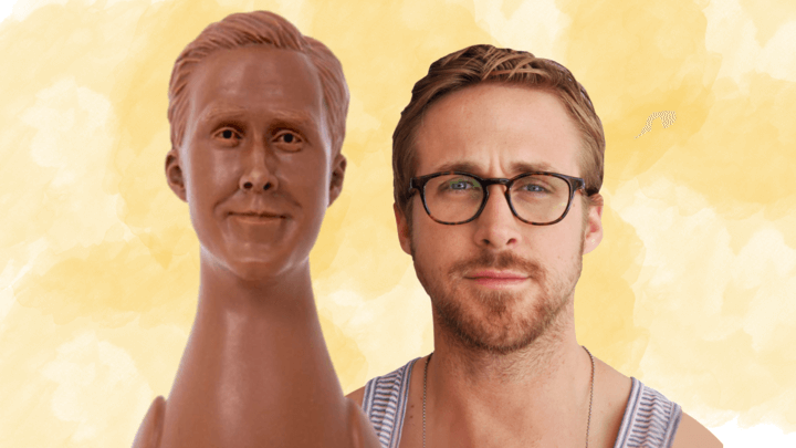 PSA: Ryan Gosling Is Actually Made Out Of Vegan Chocolate