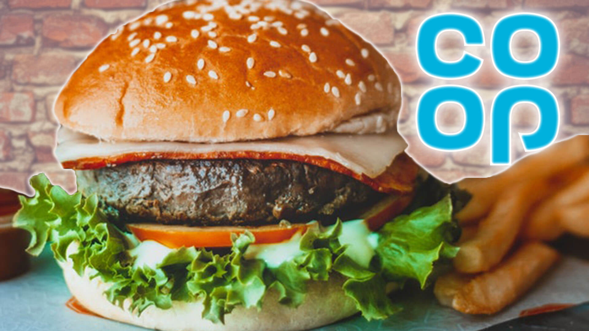 These 'Bleeding' Vegan Burgers at Co-Op Stores Are Incredible
