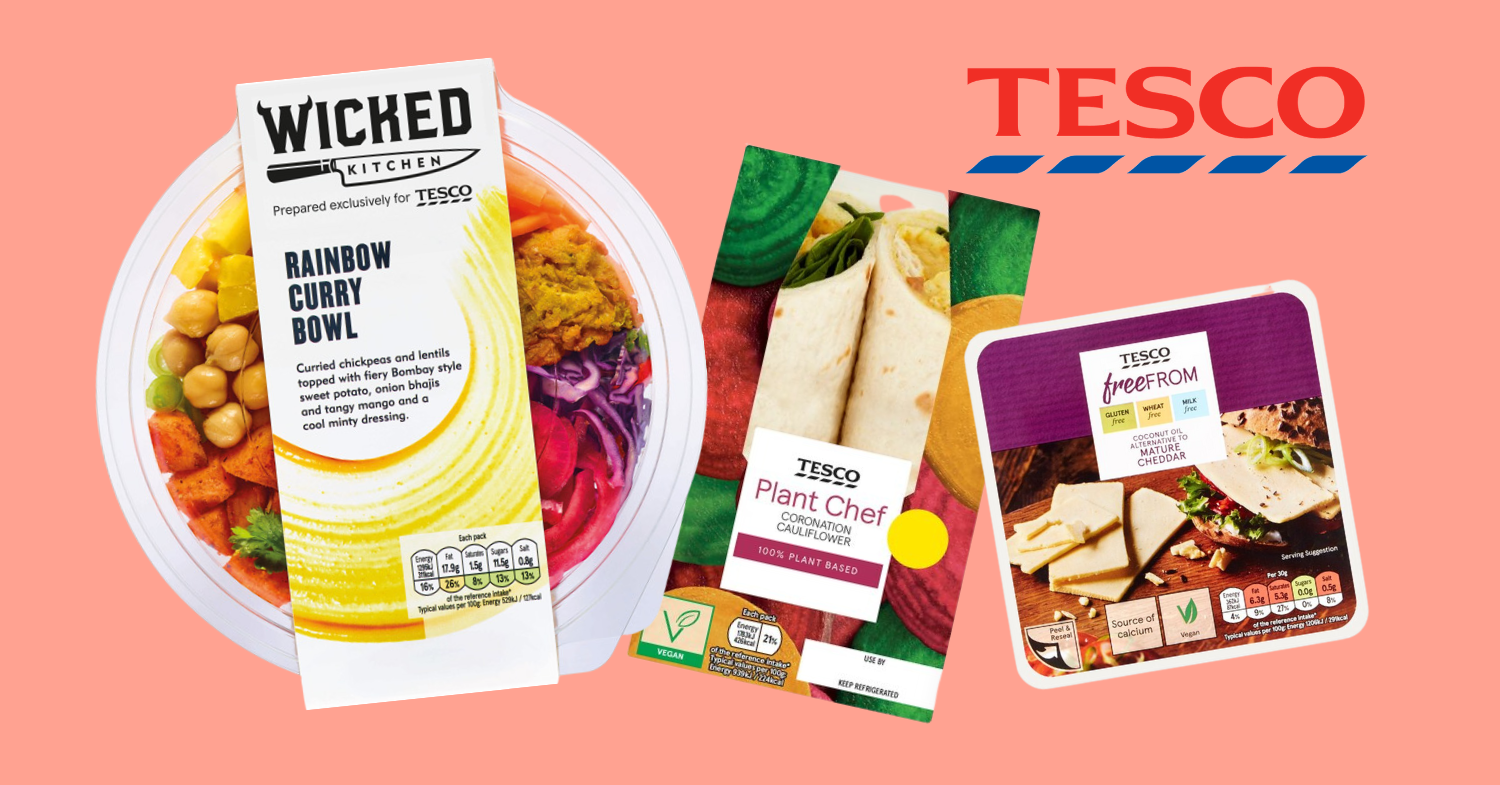 The Complete Vegan Guide to Tesco