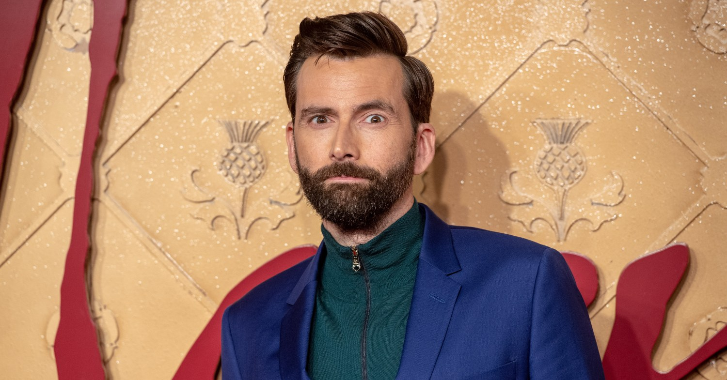 David Tennant at Mary Queen of Scots premiere