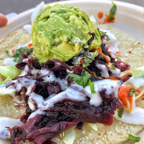 These Vegan Tacos Are Stuffed With Hibiscus Flowers