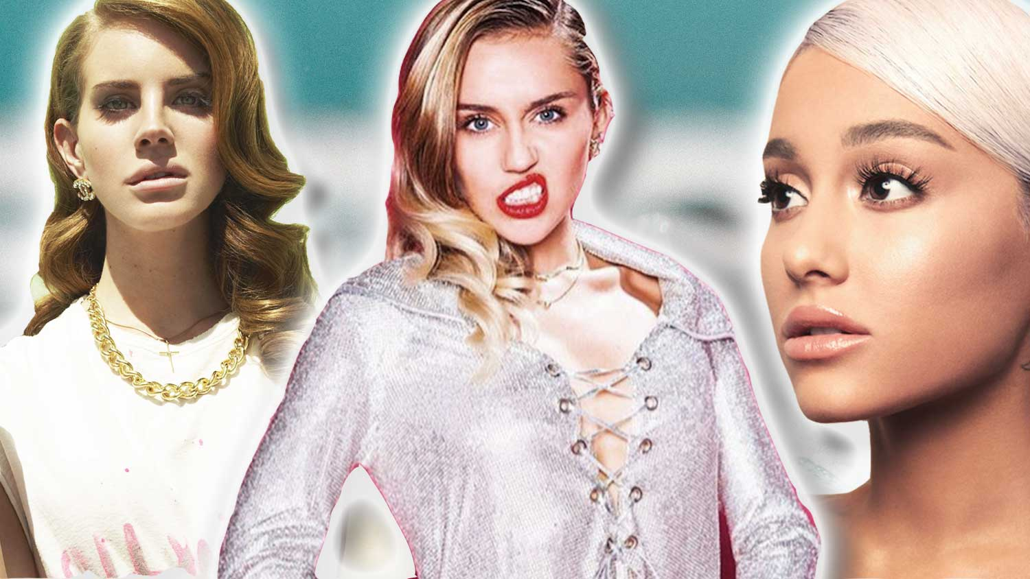 Miley, Ariana, and Lana Just Formed a Vegan Girl Band