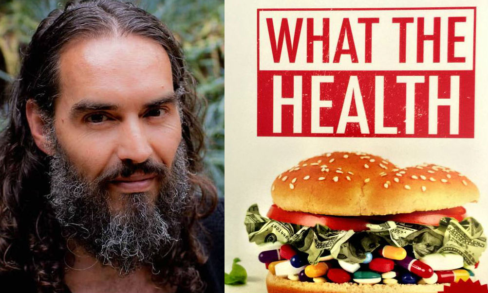 Russell Brand Discusses Truth About Vegan Documentary 'What the Health'