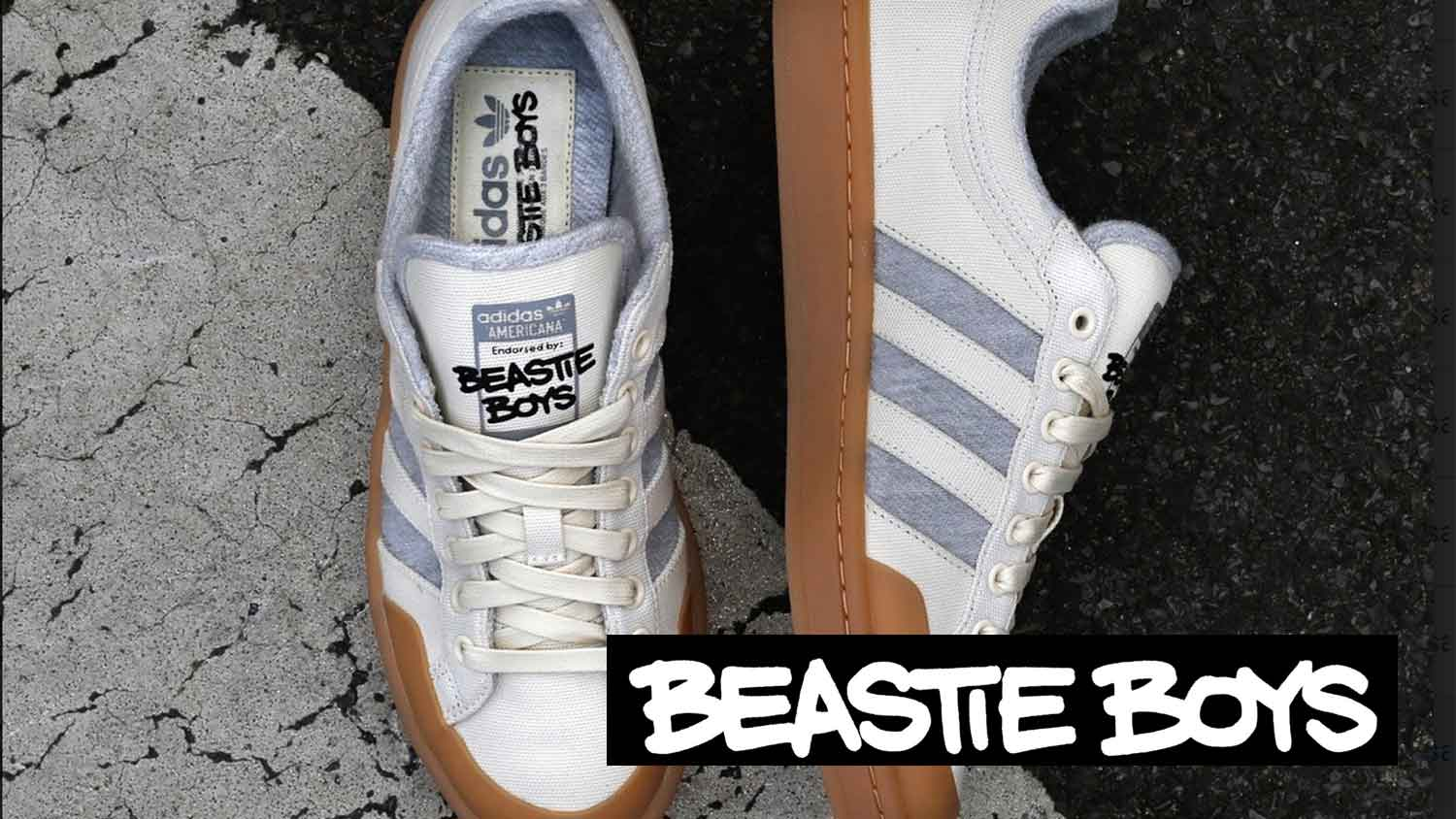 Adidas Just Launched Vegan Beastie Boys Shoes