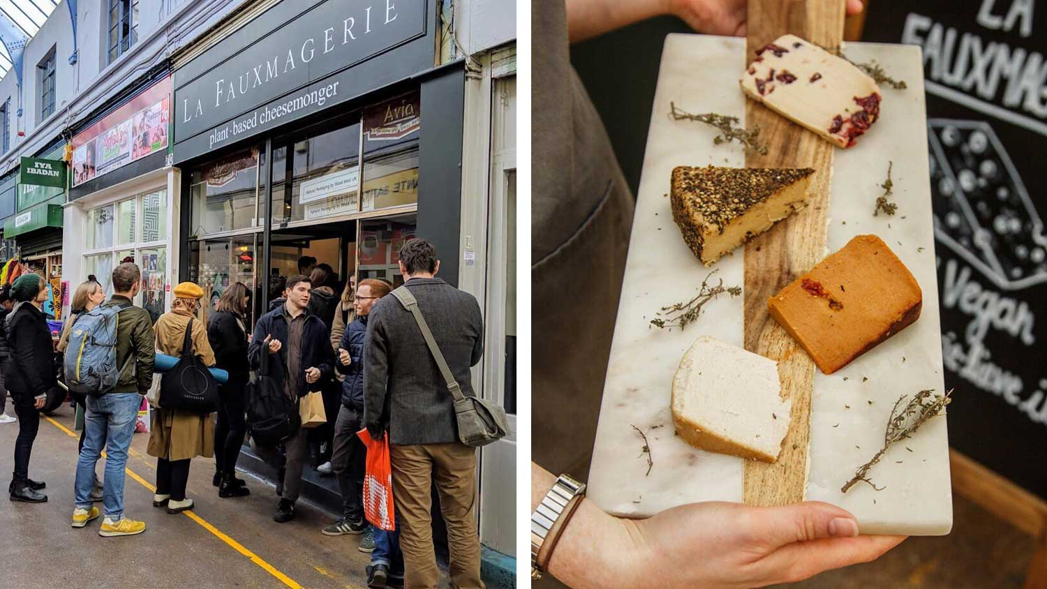 London Vegan Cheese Shop Expands Due to Overwhelming Popularity