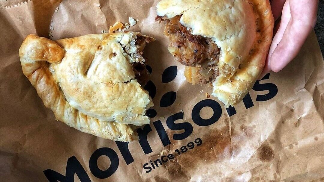Morrisons Just Launched a Vegan Cornish Pasty