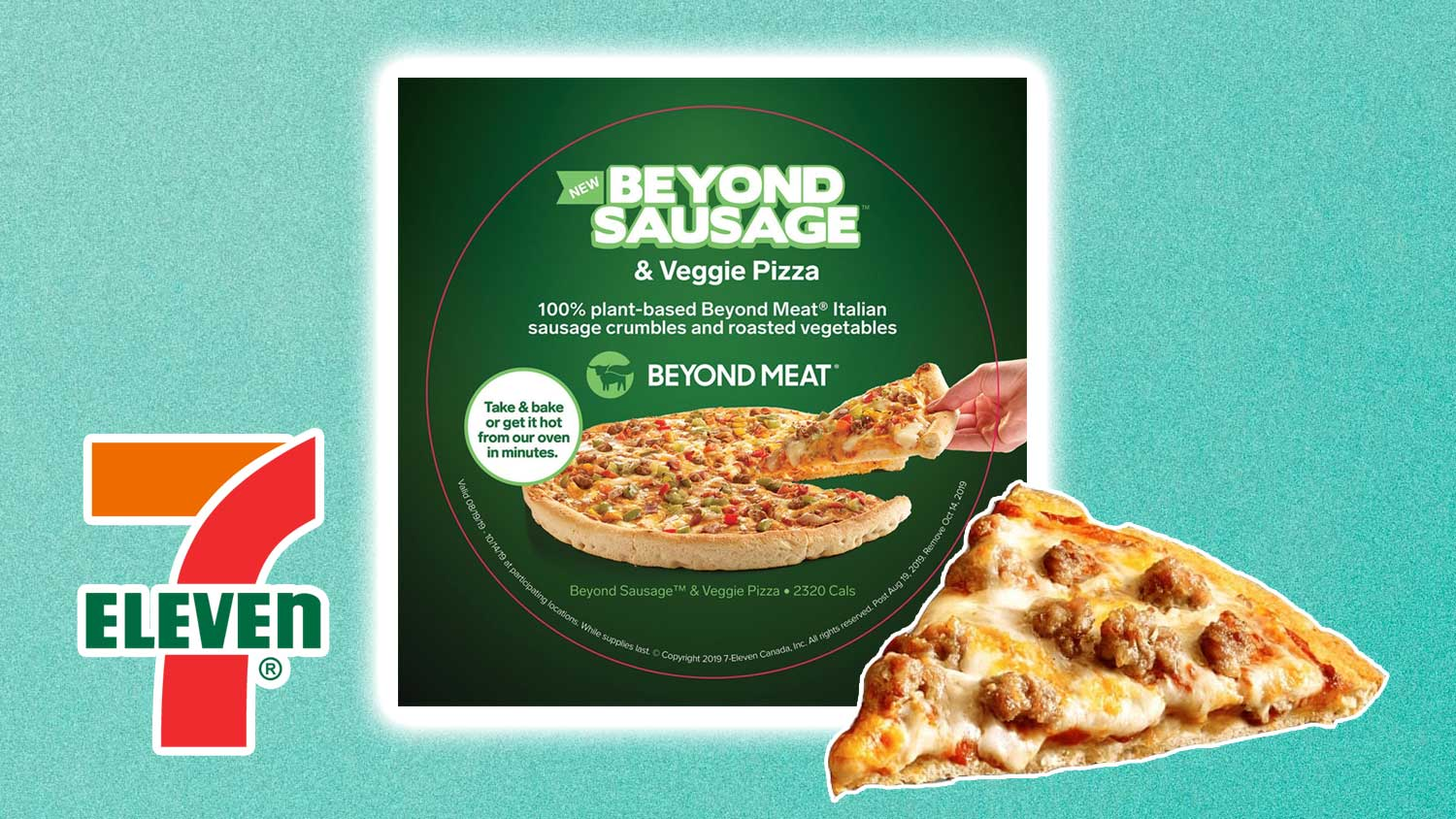 7-Eleven Launch Vegan Beyond Meat Pizza Topping