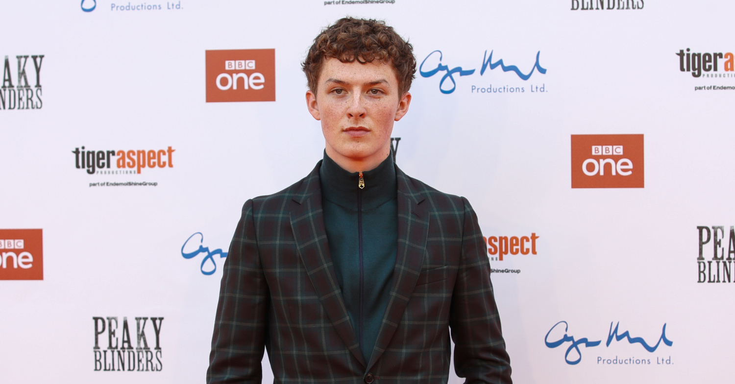 Photo of Peaky Blinders star Harry Kirton, who still works in a vegan cafe.