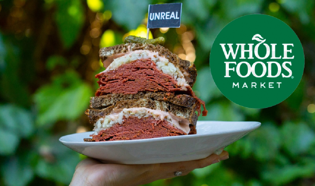 Vegan 'Unreal' Corned Beef Sandwiches Now At Whole Foods Market