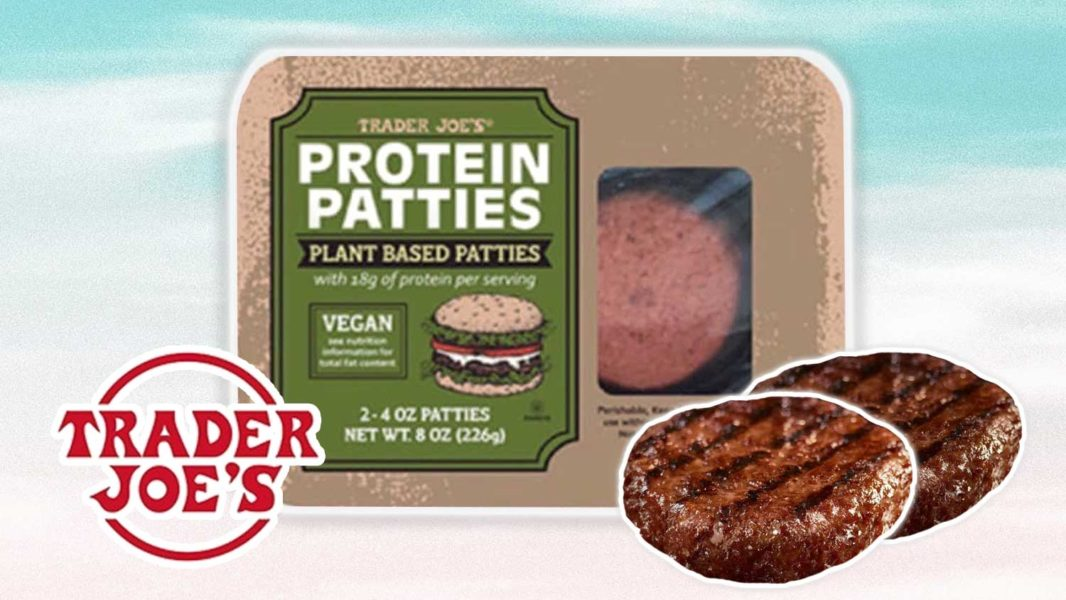 Trader Joe's Launches Own Brand Vegan Meat Protein Burger Patties
