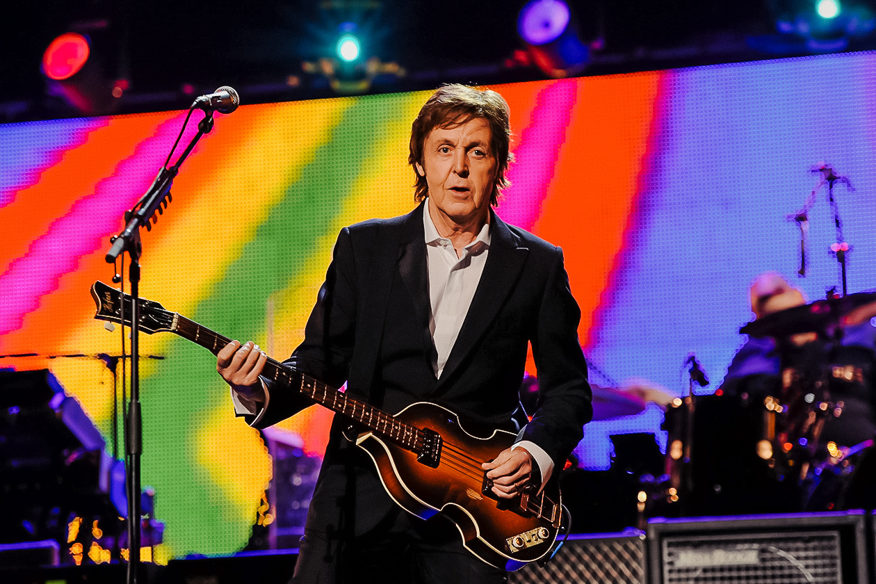 Sir Paul McCartney has been meat-free since 1975. | Getty Images