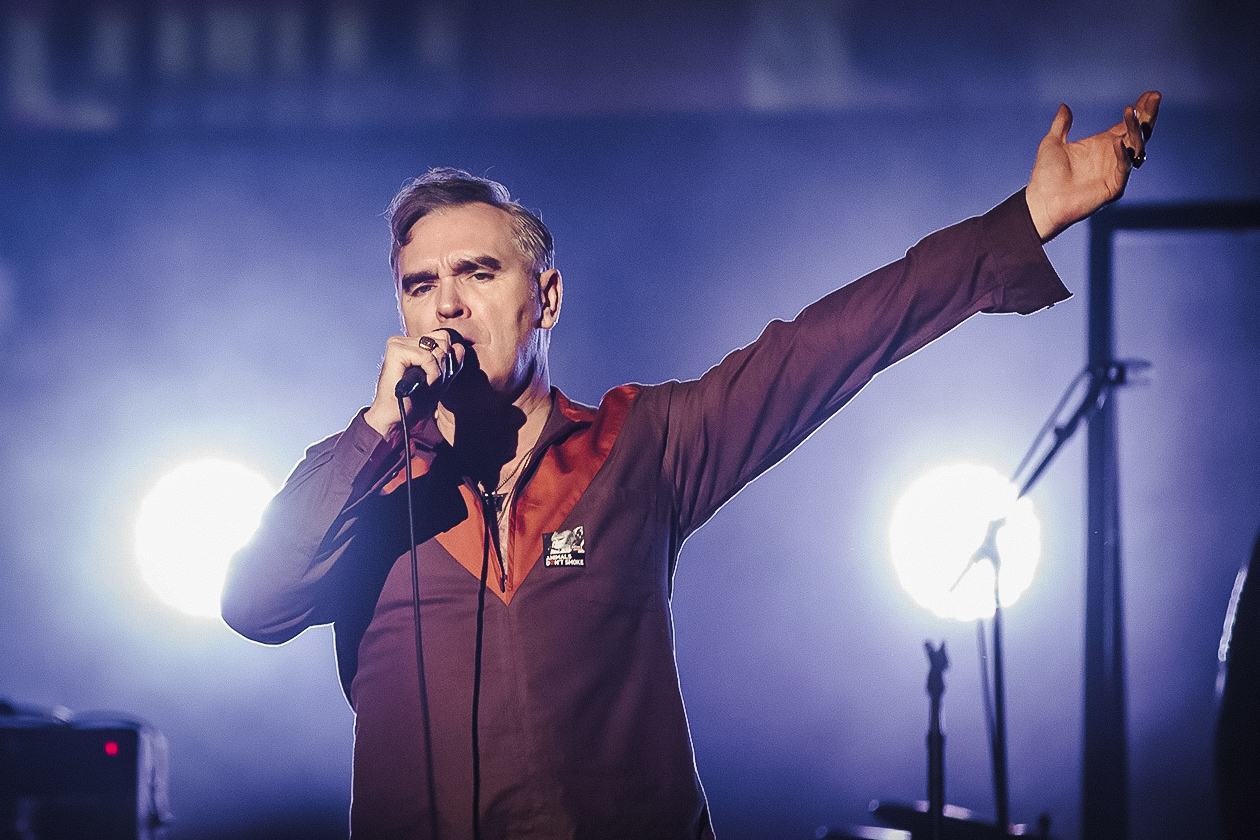 Morrissey released the album Meat is Murder in 1985. | Getty Images