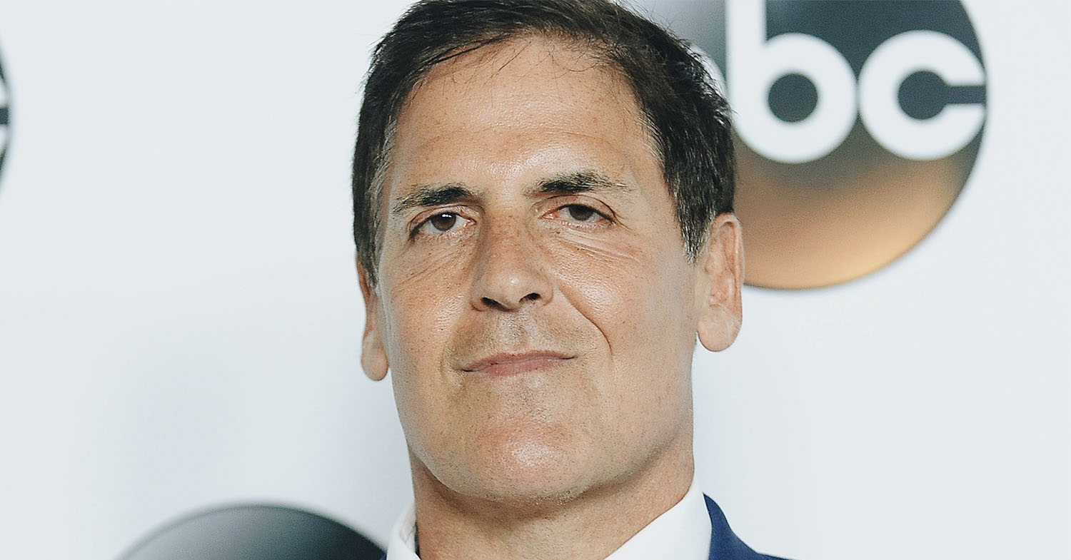 Close up photograph of Mark Cuban, who has invested in several vegan companies through Shark Tank.